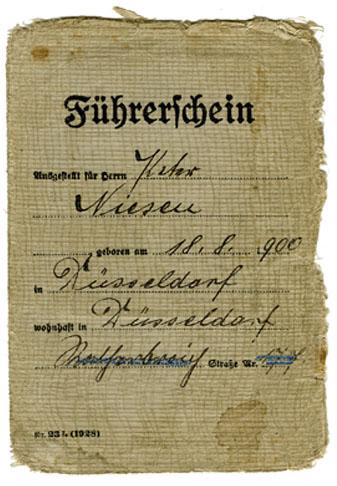 Führerschein 1909