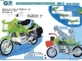 DEKRA road safety sketch of BMW K 100 1983