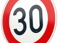 DEKRA road safety 30 km/h speed zone 1990