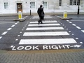 DEKRA road safety zebra crossing 1949